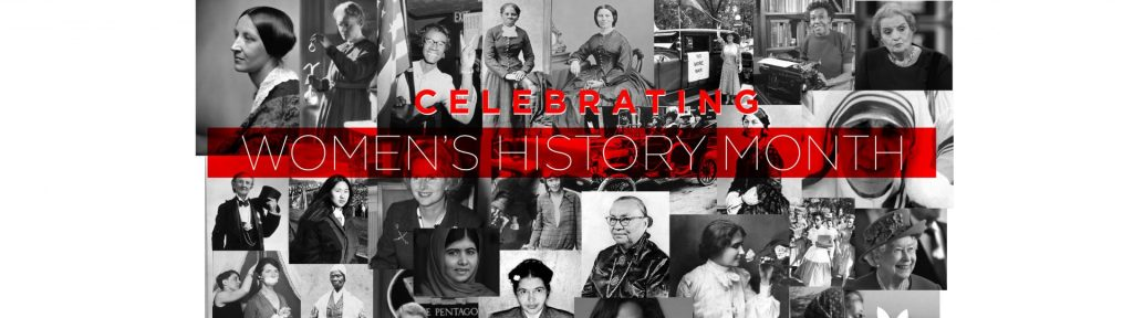 Womens History Month Web Header Sp21