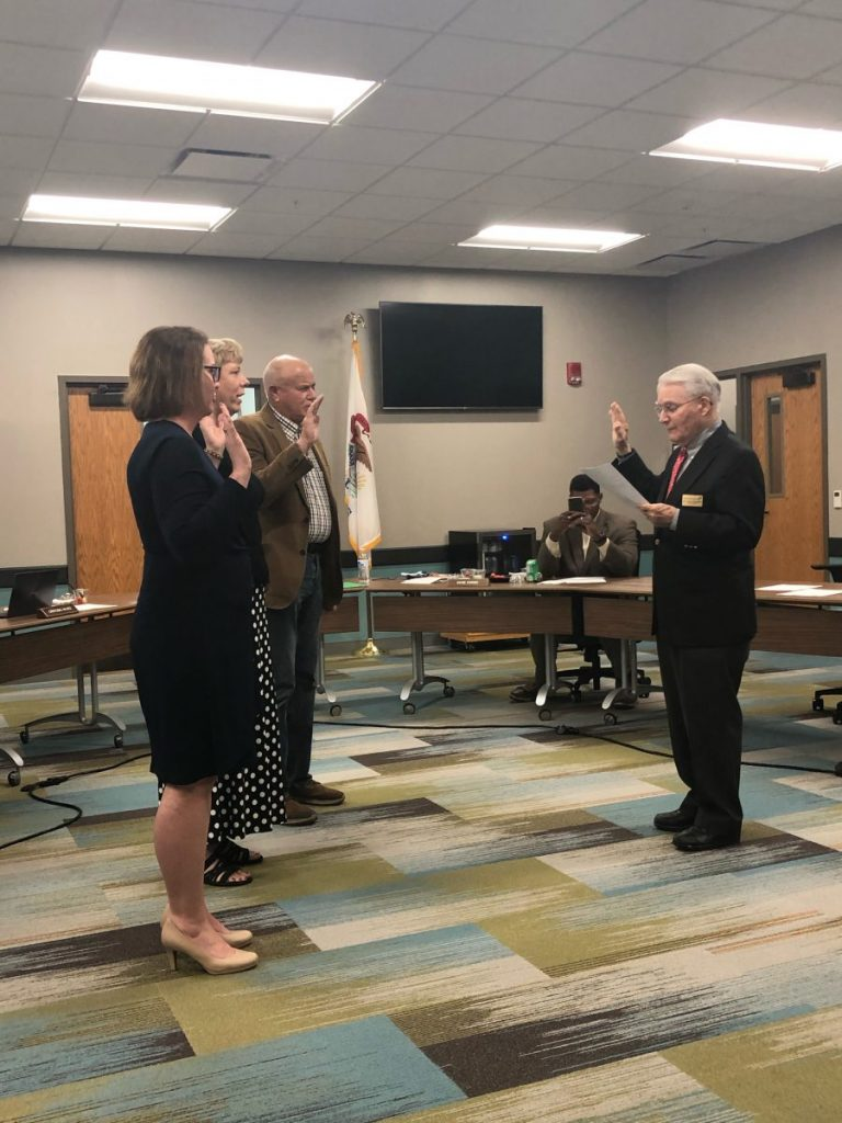 Richland Board of Trustees swearing in