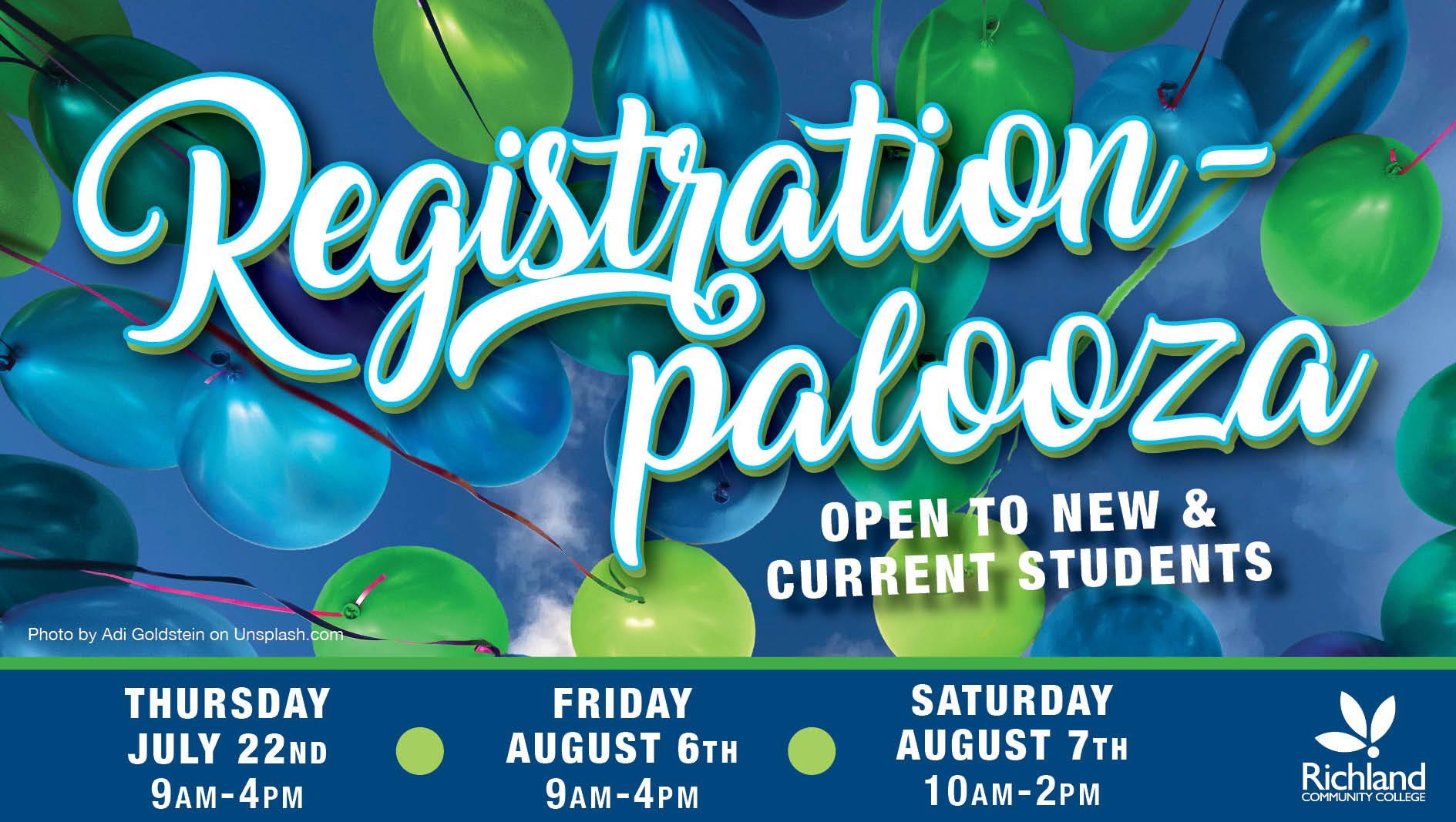 2021 Registrationpalooza Event graphic